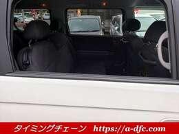 2列目の窓は全開します! タイミングチェーンの強み1.ユーザー様仕入れ車両2.店舗に経費をかけない3.本業は小売ではない!