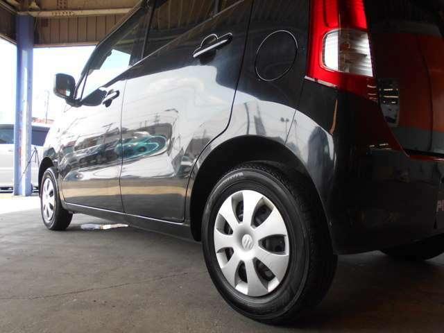 全車安心の車検付き!保証付き!費用は全て記載されている総額に含まれております。 自信があるからできるんです! 納車前整備・エンジンオイル等の交換ももちろん実施致します。