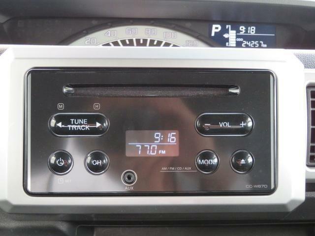 AUX接続可能な純正CDステレオです!