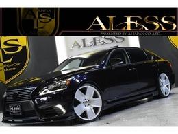 レクサス LSハイブリッド 600hL エグゼクティブパッケージ 4WD ロング 黒革サンルーフ WALD22インチ