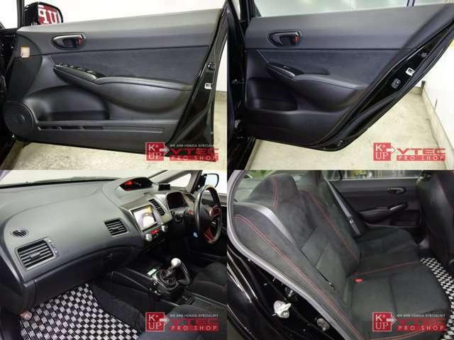ETC車載器・ドライブレコーダー・レーダー探知機が装着済みです!後部座席はほとんど使用感がなく綺麗な状態です。