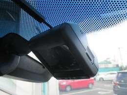 安心のフロントドライブレコーダーも付いております。