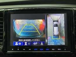 駐車時にとても便利なアラウンドビューモニターが搭載されています!
