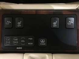 【後部座席コンソールスイッチ】後席コンソールスイッチ各種!後席装備充実の一台です!!