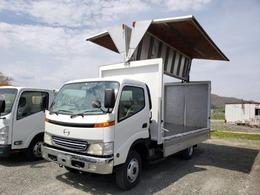 日野自動車 デュトロ 3トン アルミウィング 4WD