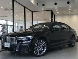 BMW 7シリーズ 740d xドライブ Mスポーツ ディーゼルターボ 4WD 弊社デモカー禁煙車純正20インチアルミ