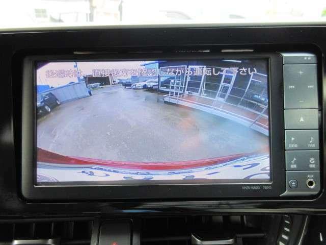 バックカメラ付きになりますので車庫入れもスムーズになります!!