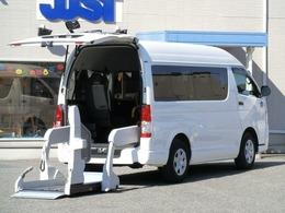 トヨタ ハイエースバン 2.0 ウェルキャブ Bタイプ ロング パワースライドドア 車いす2名 電格ミラー