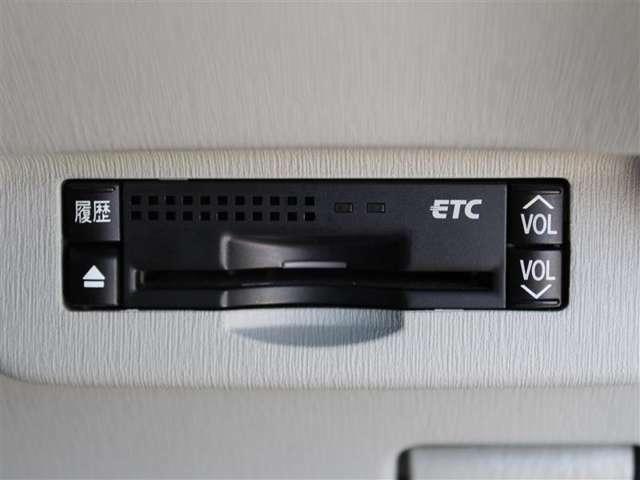 ETCがついていて高速がキャッシュレスでご利用できます!