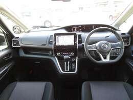 使いやすい運転席。視界も広く運転しやすいお車です。