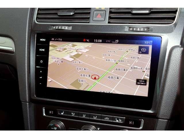 ナビゲーション機能付の「Discover Pro」は9.2インチに画面が大きくなり、視認性も向上!