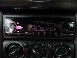 社外オーディオ付き!Bluetoothも可能ですので、携帯から音楽を流すこともでき、ハンズフリー通話も可能です!