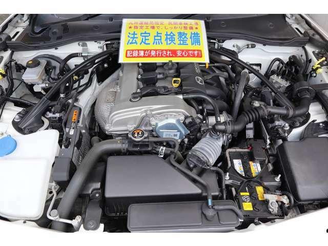 弊社は九州運輸局指定民間車検工場です。国家整備士により点検整備を行い当社の基準に満たない消耗品(バッテリー、ブレーキ廻り、ワイパーゴム)など全て交換して、安心してお乗り頂ける状態でお渡し致します。