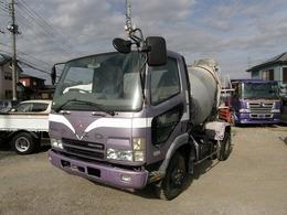三菱ふそう ファイター 4.9Dミキサー車 3.83トン積み 坂道発進補助装置 エアコン