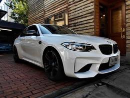 BMW M2クーペ M DCT ドライブロジック 純正ナビ バックカメラ ミラー内臓ETC