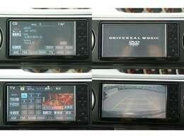 純正HDDナビです。CDを録音することができます。録音した音楽を聴くことができます。DVD・TVを視聴することができます。バックカメラが付いていますので、駐車をする際とても便利です。