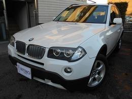 BMW X3 2.5si 4WD 1オーナー 黒レザーシート NAVI ETC PDC