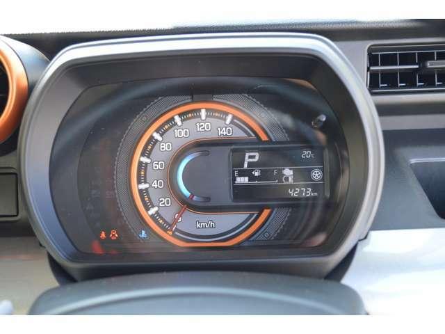 燃費などを多彩な情報でドライブをサポートする、マルチインフォメーションディスプレイです