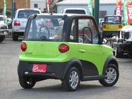 電気自動車!新車!家庭用100V電源で充電出来て経済的です!ボディカラーも6色あります!是非お問い合わせ下さい!