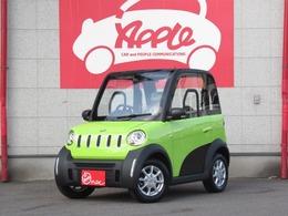 輸入車その他 超小型電気自動車 e-Apple EV車 家庭用電源 Bカメラ キーレス 純正AW