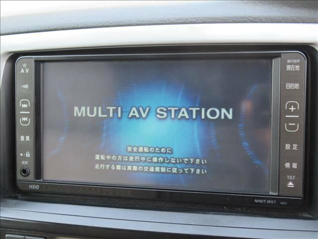 【純正HDDナビ】です。ミュージックサーバーやDVD再生等充実装備。