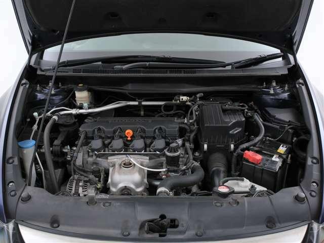 1800ccのガソリンエンジン!必要十分なパワーを発揮します!