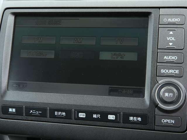 純正HDDナビ!CD/DVD再生&フルセグ地デジTV視聴可能です!