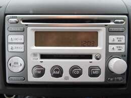 純正CDオーディオ搭載☆お好みのCD、ラジオがお楽しみいただけます。