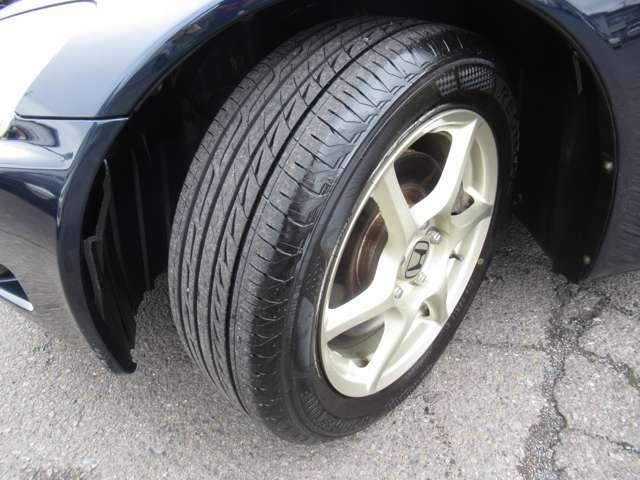 タイヤの残り溝です!