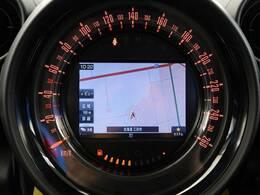 ●MINI純正メーカーオプションナビ:高級感のある車内を演出させるナビです!タッチ式なので簡単に操作して頂けます♪