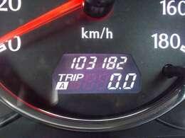 実走行距離:103182km