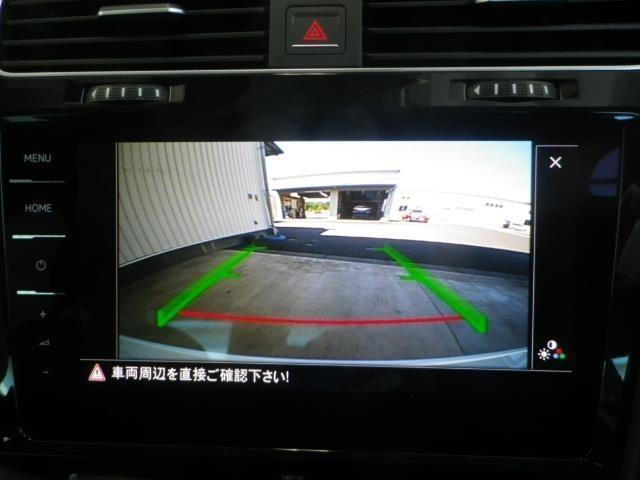 バックカメラがあるので車両後方の安全確認もラクラクです!