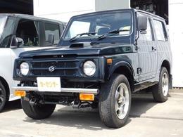 スズキ ジムニー 660 ワイルドウインド リミテッド 4WD 5速ミッション バンパーガード