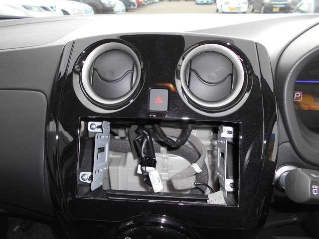 オーディオレス車でお好みのオーディオ、ナビを取り付けることが出来ます!