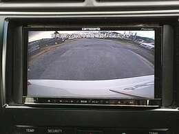 バックカメラ装備しています!!バックガイドラインも付いていますので駐車時もとても安心です♪♪