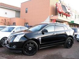 キャデラック SRXクロスオーバー プレミアム 4WD パノラミックルーフ ジオバンナ22アルミ