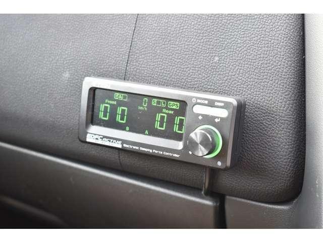 車高調の減衰力は室内から調整可能となっております♪