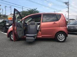 ダイハツ ムーヴ 660 L フロントシートリフト 福祉車両 純正ナビ