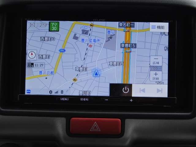 フルセグTV&Bluetooth付ナビはオプションとなります。
