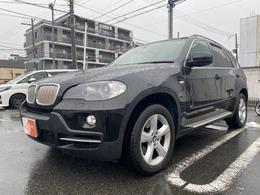 BMW X5 4.8i 4WD ユーザー買取直販車 黒本革 純正ナビ