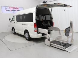 トヨタ ハイエースバン 2.0 ウェルキャブ Bタイプ ロング 福祉車両 ドラレコ 10人 キーレス