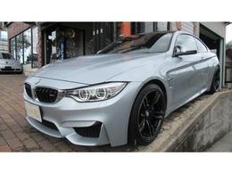 BMW M4クーペ M DCT ドライブロジック 禁煙 ダウンサス coding