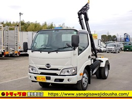 日野自動車 デュトロ 脱着装置付コンテナ専用車 フックロール ETC Bluetooth対応 3t 6MT
