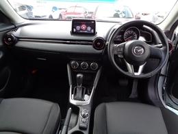 安全運転と情報操作を両立する運転席まわり。さまざまな情報を扱いながら正しい姿勢で安全に運転できることを追求したコックピット。
