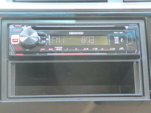 CD/ラジオ視聴タイプのオーディオです