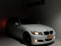 BMW 3シリーズツーリング 320i アルピナエアロ プッシュスタート社外19AW