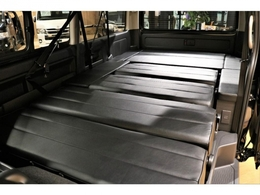 フルフラットベッドでも使用できる内装架装Ver5施工!