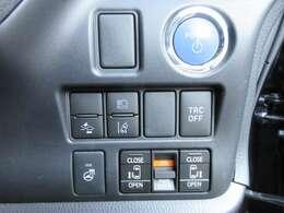 安心安全のトヨタセーフティーセンス付き♪ オートハイビーム&レーンキープ&プリクラッシュセーフティ機能♪ 両側パワースライドドア付き♪ステアリングヒータ機能付き♪上位グレードならではの装備になります♪