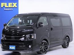 トヨタ ハイエース 2.7 GL ロング ミドルルーフ 4WD BlackEdition BIG-Xナビ  ETC