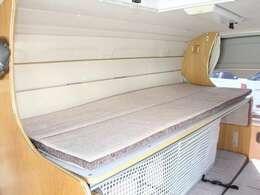 上段ベッドは185cm×71cmです!